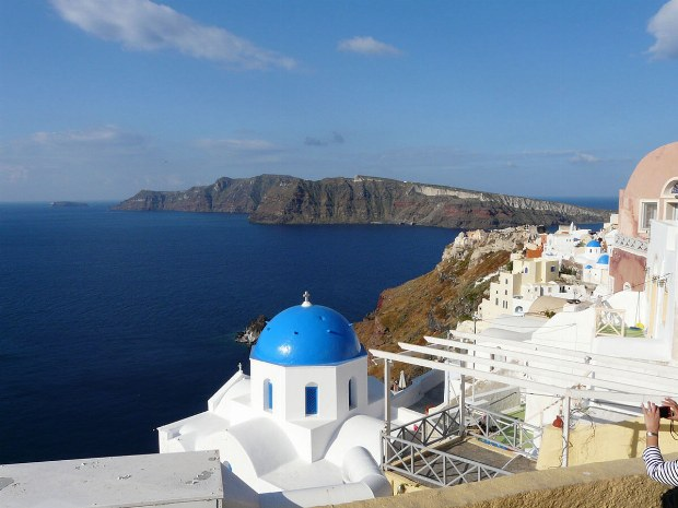 Aussicht von Santorin