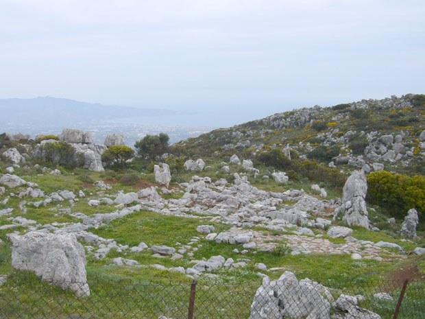 Typische Landschaft auf Ostkreta