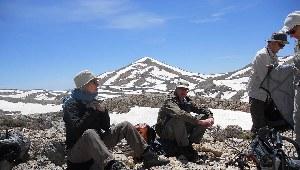 Pause in den Bergen von Kythira