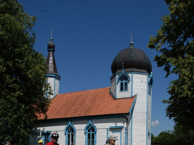 Fahrradtour entland vieler kleiner Kirchen