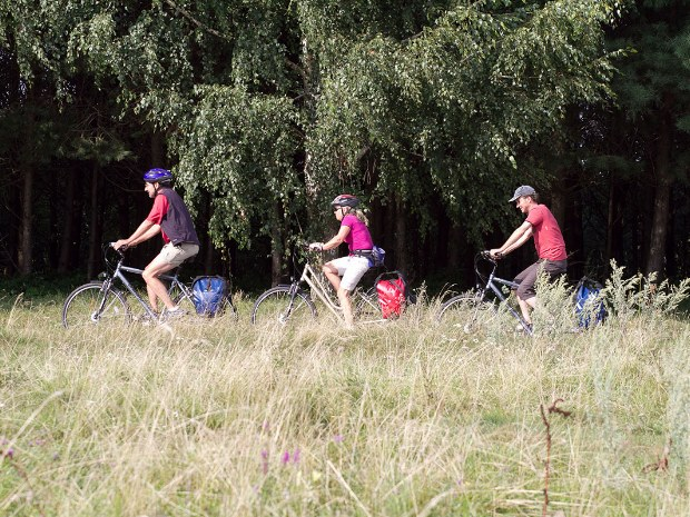 Durch die herrliche Natur von Polen mit dem Fahrrad fahren