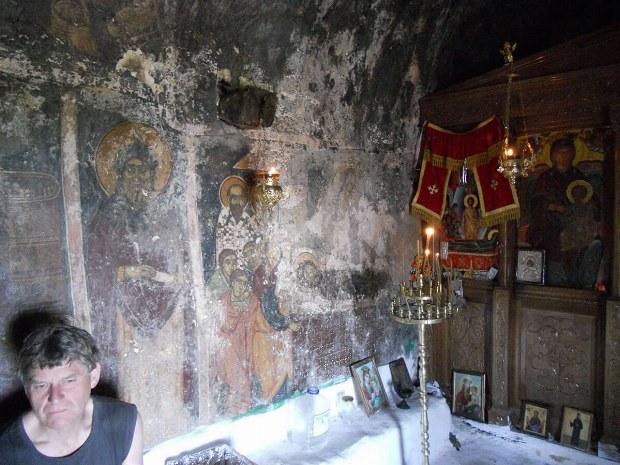 alte und religiöse Wandmalereien