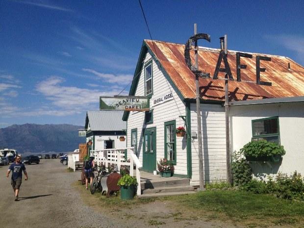 Cafe in Alaska