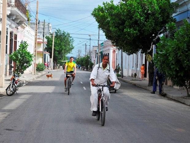 Das Rad ist auch für die Einheimischen ein wichtiges Verkehrsmittel