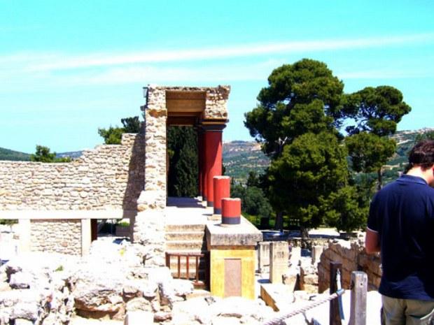 ein typisches Griechisches Bauwerk