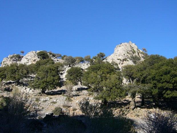 Hügellandschaften von Ostkreta