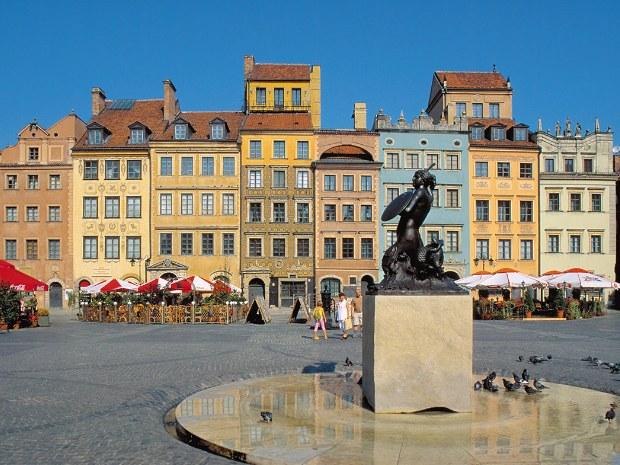 Innenstadt von Warschau